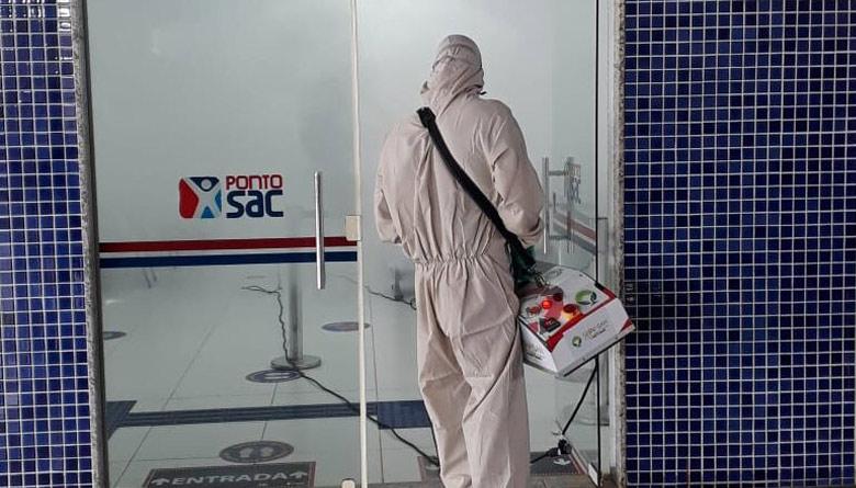 Prefeitura Municipal de LEM - LEM: Ponto SAC passa por desinfecção contra  Covid-19